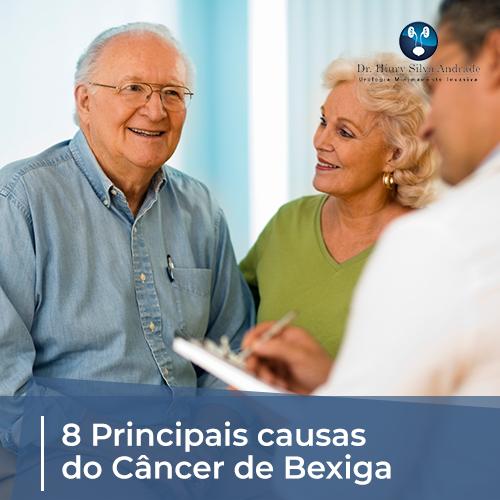 8 Principais Causas do Câncer de Bexiga