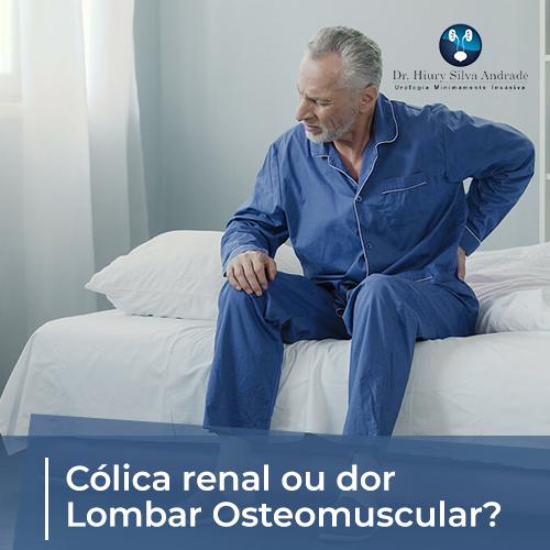 Cólica Renal ou Dor Lombar Osteomuscular?
