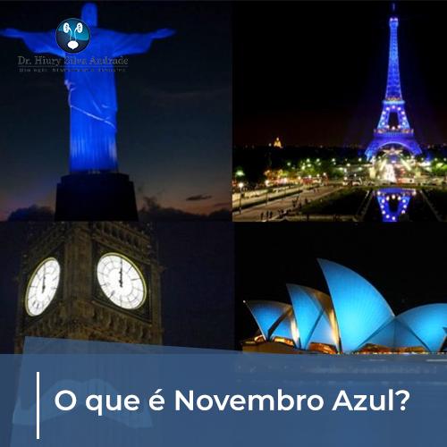 O que é Novembro Azul?