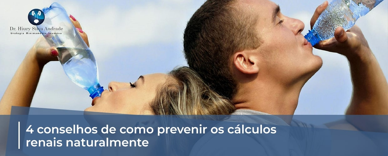 4 conselhos de como prevenir os cálculos renais naturalmente